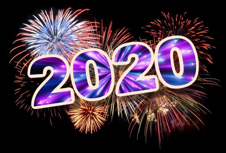 זיקוקים שנת 2020